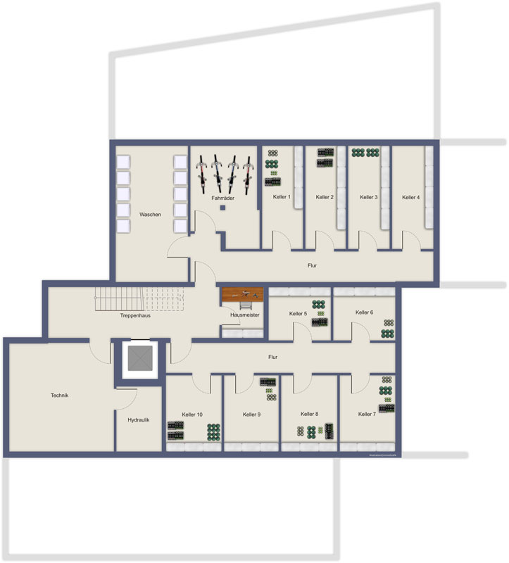 villa kronprinz deichstr 7 immo concept und funhoff immobilien. Black Bedroom Furniture Sets. Home Design Ideas